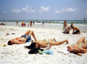 Clearwater Beach Girls