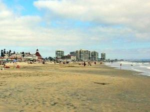 Coronado Beach in San Diego, California