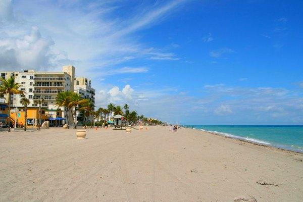 Hollywood Beach, Hollywood, Florida