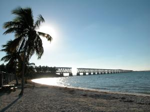 Calusa Beach at Sunset, Bahia Honda State Park, Florida Keys
