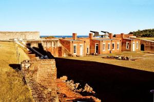 The Fort at Fort Clinch State Park, Fernandina Beach, Florida