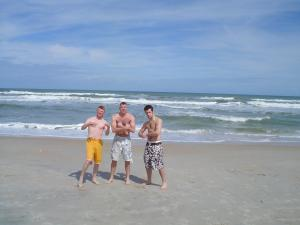 Guys at Ponte Vedra Beach, Florida