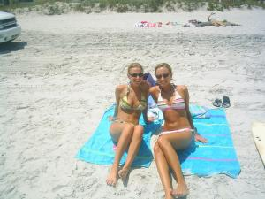 Girls at Ponte Vedra Beach, Florida