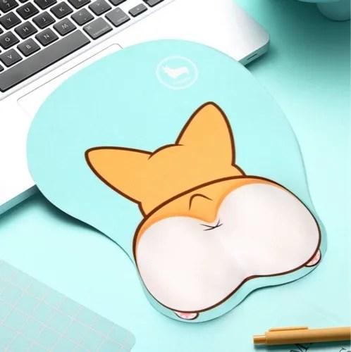 Corgi butt mouse pad
