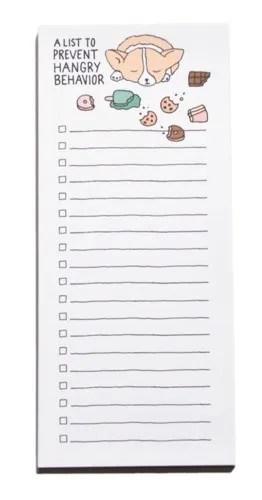 Corgi notepad