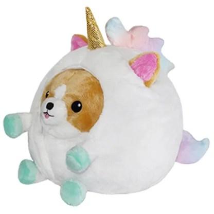 Undercover Corgi in Unicorn Costume