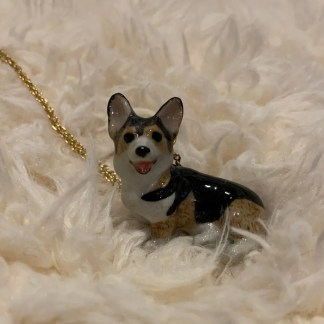 Corgi Ceramic Jewelry