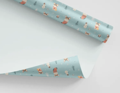 CUTE GIFT WRAPPING WITH DOGS