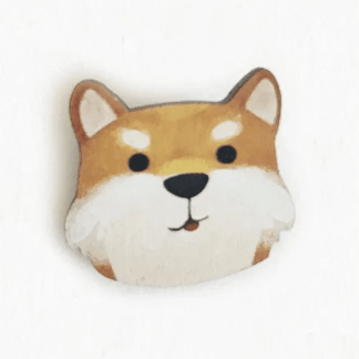 DOG PIN LITTLE RED HOUSE
