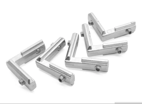 Escuadra Interna Tipo L Para Perfil Estructural 20x20mm 2020
