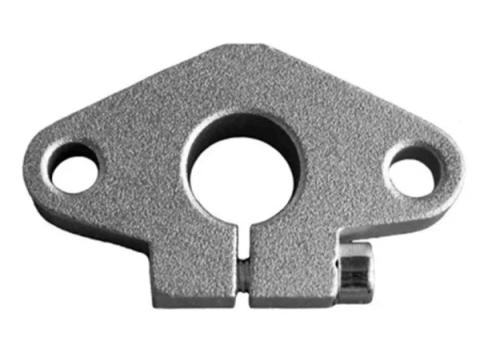 Soporte De Pared Shf10 Para Varilla Lisa 10mm, Cnc Laser, 3d