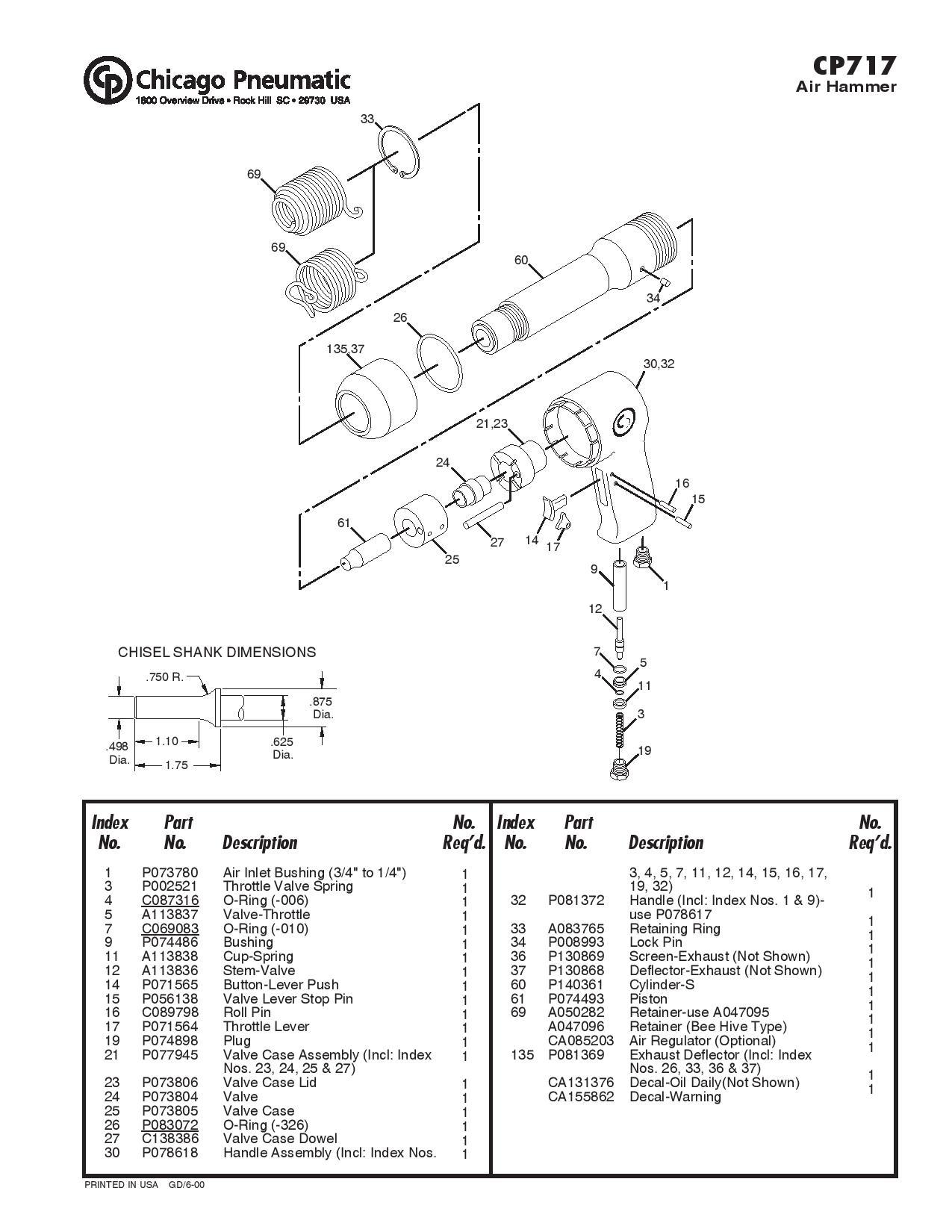 Cp 717 Zip Gun Schematic