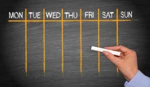 Do you have an editorial calendar for blogging and social media?