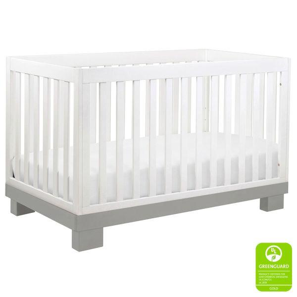 Babyletto Modo Crib White Grey