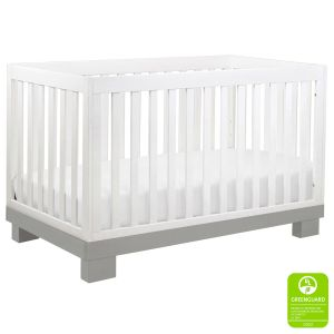 Babyletto Modo Crib White Grey