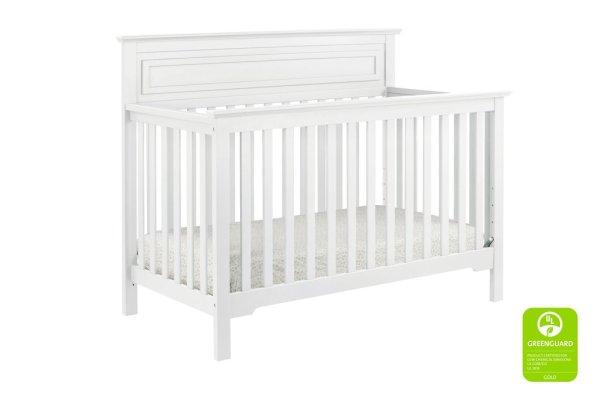 Autumn 4-in-1 Convertible Crib - White