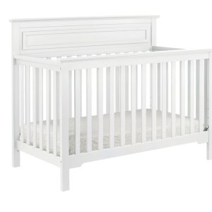 Autumn 4-in-1 Convertible Crib - White