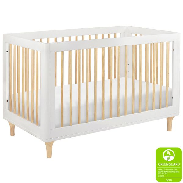 Babyletto Lolly Crib White Natural
