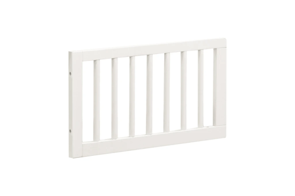 The Mirabelle 4-in-1 Crib toddler bed conversion kit.