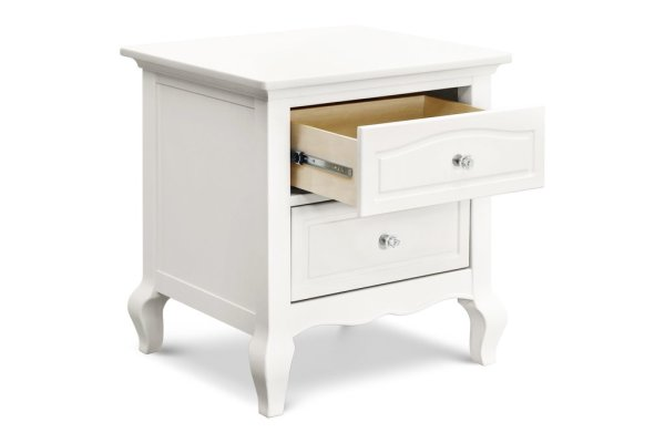 Complete your nursery with the Mirabelle Nightstand.