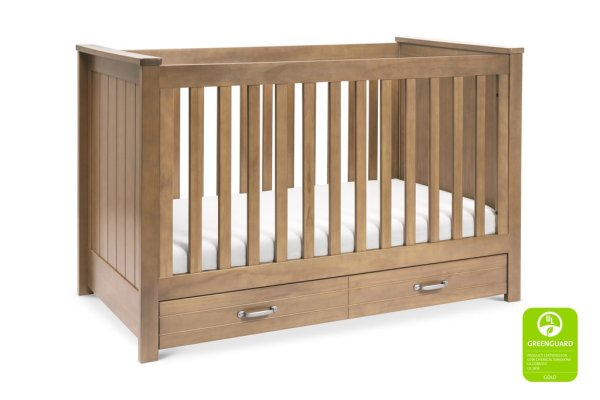 Asher 3 in1 Crib Hazelnut