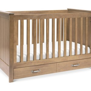 Asher 3 in1 Crib Hazelnut