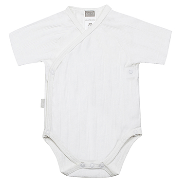 Classics Side Wrap SS Bodysuit White