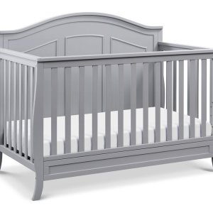 Emmett 4-in-1 Convertible Crib - Grey