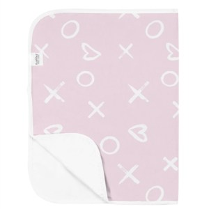 Kushies Waterproof Flat Change Pad - Pink XO