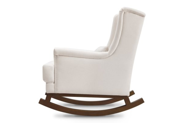 GENTLY ROCKS: Whether you are feeding your baby or gently rocking your baby to sleep, the Miranda Rocker allows for a smooth back-and-forth rocking motion.