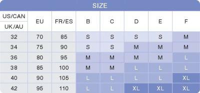 Medela Bra Size Chart