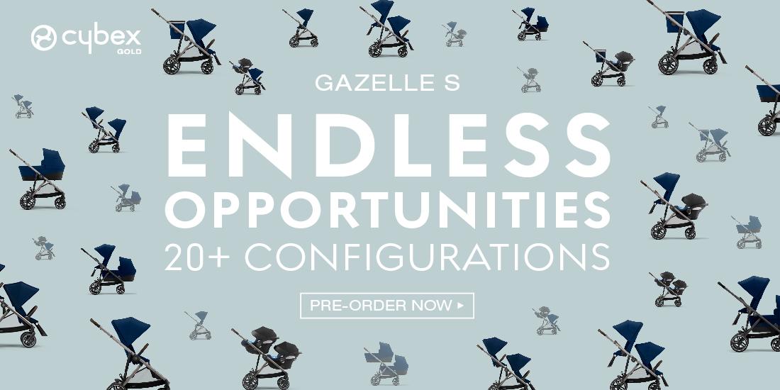 CYBEX Gazelle S Endless Opportunities
