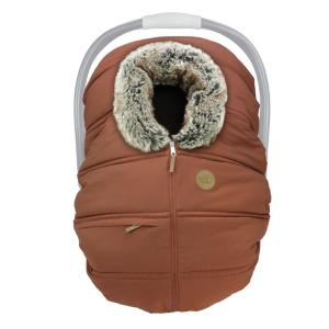 Winter Baby Car Seat Cover – Sequoia Wolf