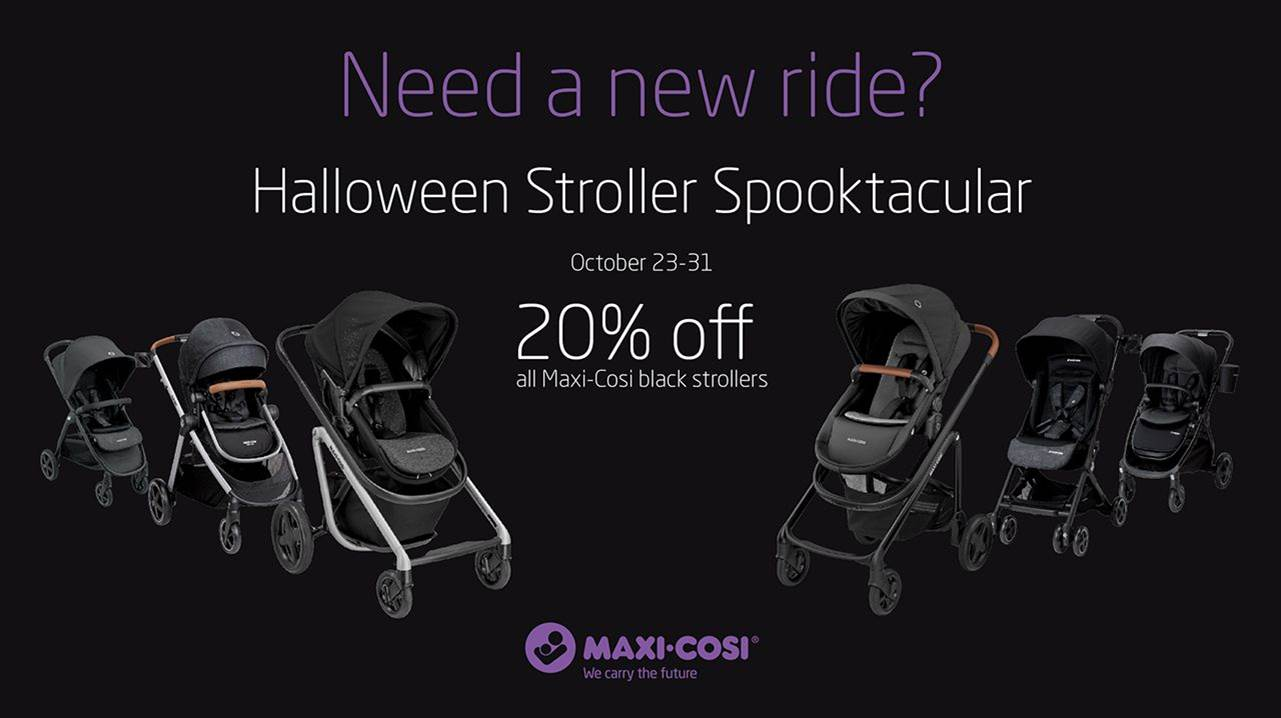 Halloween Stroller Spooktacular banner
