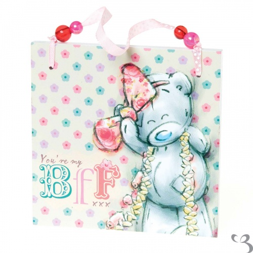 Me To You Tatty Teddy BFF Plaque Best Friends