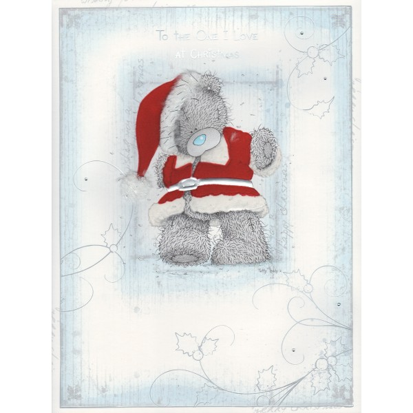 Me To You One I Love Christmas Card