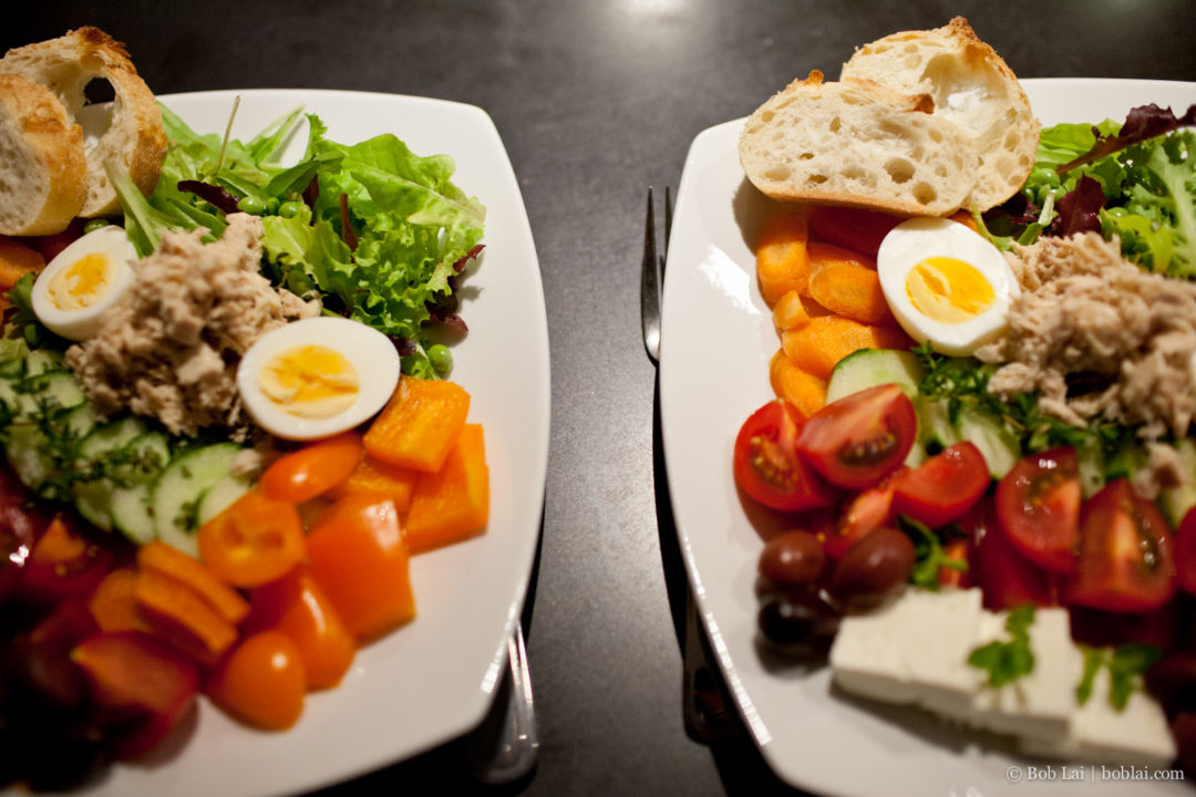 Summer salad – our take on Salad Nicoise