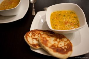 Dhal with Naan