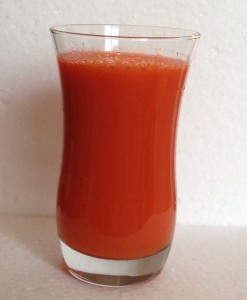Carrot and grapefruit juice taste test on my 14 day juice cleanse