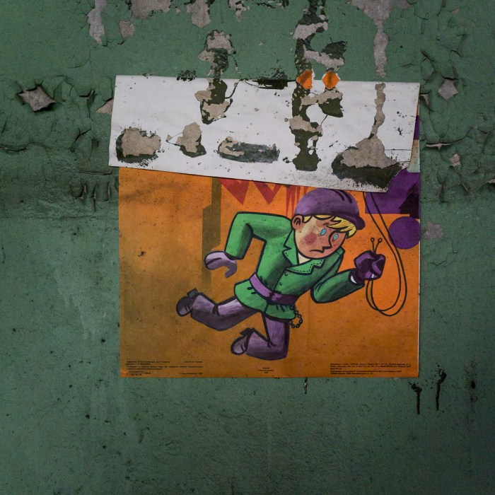 Health and Safety Posters from the Jupiter Factory Complex