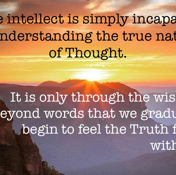 The true nature of Thought