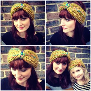 Cute headband pattern from A Stash Addict!