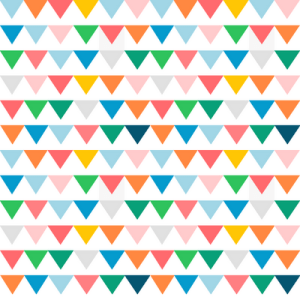 So! Much! Bunting! A free downloadable from MeinLilaPark.