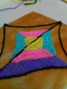 My Arte en Estambre in progress!