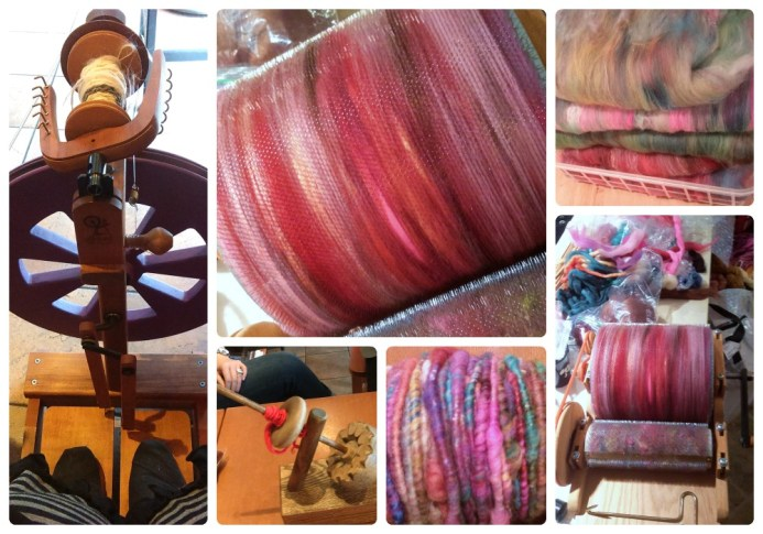 spinning and carding april 15