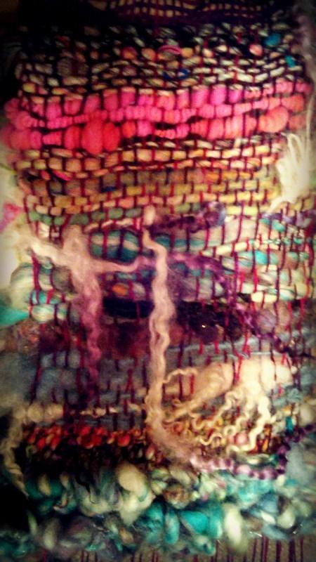 Demonstration Weaving by Xiane