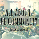 all about the community