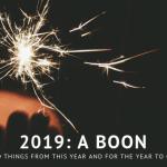 2019 a boon