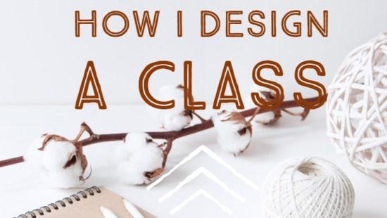 how I design a class