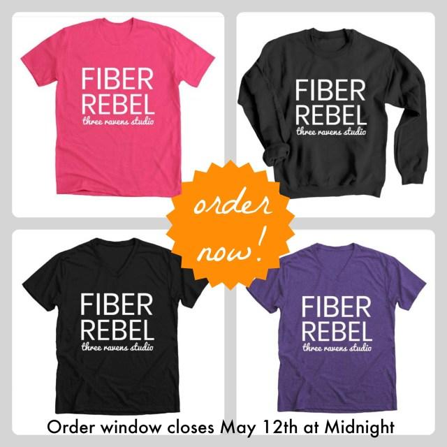 fiber rebel tee